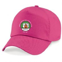 Irish Camping & Caravan Club Beecgfield Original 5 Panel Cap Fuchsia 2019